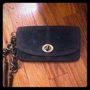 Coach Wristlet Wallet - Unique!